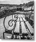 Pembroke Bench  Metal Print