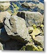 Pembroke Rock Metal Print