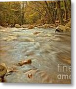 Pemigewasset River Rushing By Metal Print