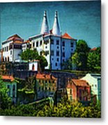 Pena National Palace - Sintra Metal Print