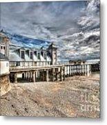 Penarth Pier 5 Metal Print