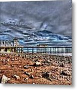 Penarth Pier 7 Metal Print