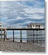 Penarth Pier Panorama 1 Metal Print