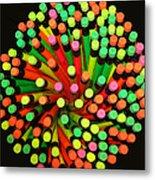 Pencil Blossom Metal Print
