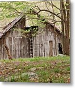 Pendleton County Barn Metal Print by Randy Bodkins