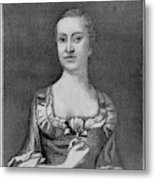 Penelope Barker (1728-1796) Metal Print