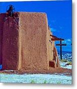 Penitente Morada Christian Church At Abiquiu New Mexico Metal Print