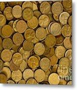 Pennies - 3 Metal Print