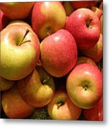 Pennsylvania Apples Metal Print