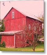Pennsylvania Barn  Cira 1700 Metal Print