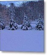 Pennsylvania Snowy Wonderland Metal Print