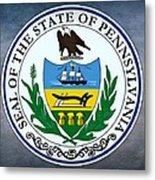 Pennsylvania State Seal Metal Print
