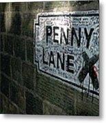 Penny Lane Metal Print