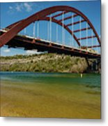 Pennybacker 360 Bridge, Austin, Texas Metal Print
