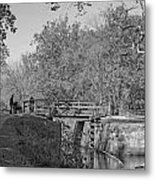 Pennyfield Lock Chesapeake And Ohio Canal Metal Print