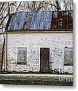 Pennyfield Lockhouse On The C And O Canal In Potomac Maryland Metal Print