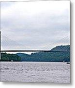 Penobscot Narrows Bridge Metal Print