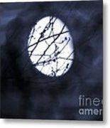 Pentacle Moon Metal Print