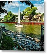 Pentwater Channel Michigan Metal Print