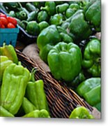 Peppers From The Farm Nj Metal Print