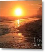Perdido Key Sunburst Metal Print