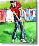 Ideal Gift For Golfing Husband Metal Print