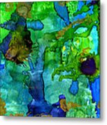 Perfect Petals And Spring Showers Metal Print