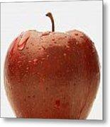 Perfect Red Apple Metal Print