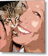 Perfect Smile Metal Print by Stelios Kleanthous