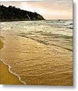 Perfect Sunset Beach Metal Print