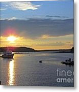 Perfect Sunset Metal Print