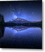 Perfect Two Jack Lake Reflection Metal Print