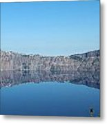 Perfectly Reflected Metal Print
