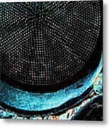 Perforated I Metal Print