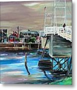 Perkins Cove Maine Metal Print