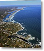 Perkins Cove, Ogunquit Beach, Ogunquit Metal Print