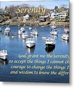 Perkins Cove Serenity Metal Print