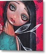 Perla Metal Print by  Abril Andrade Griffith