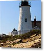 Permaquid Point Lighthouse Metal Print