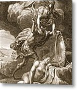 Perseus Cuts Off Medusas Head, 1731 Metal Print