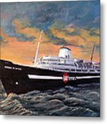 Perseverance On The Bay Metal Print