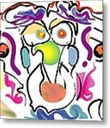 Persnickity Metal Print