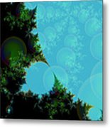 Perspective In The Forest Metal Print