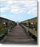 Perspective Lighthouse Metal Print