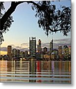 Perth 2am-110873 Metal Print