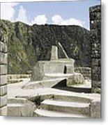 Peru. Cuzco. Machu Picchu. Incaic Metal Print