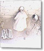 Peru Nazca Bones Two Metal Print