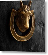 Peruvian Door Decor 5 Metal Print