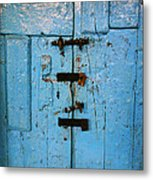 Peruvian Door Decor 8 Metal Print