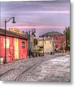 Petaluma Morning Metal Print by Bill Gallagher